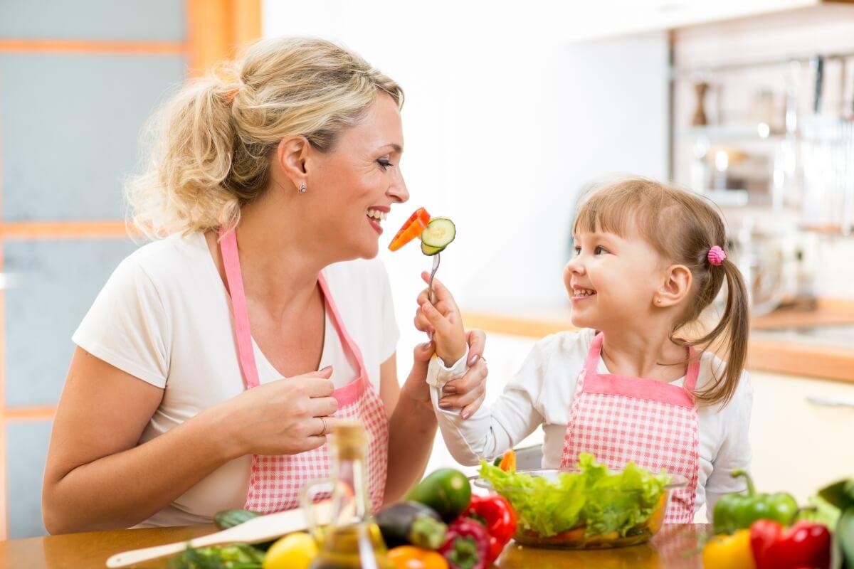Ensinar as Crianças Boa Alimentação