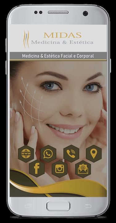 Cartão de Virtual Clínica Midas